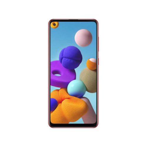 Смартфон Samsung Galaxy A21s 64Gb красный