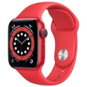 Часы Apple Watch S6 44mm PRODUCT(RED) Aluminum Case with PRODUCT(RED) Sport Band