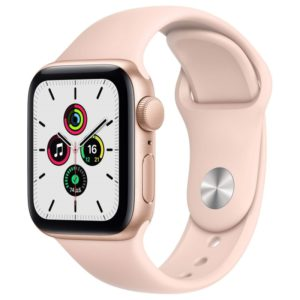 Смарт-часы Apple Watch SE 40mm Space Gray Aluminum Case with Black Sport Band