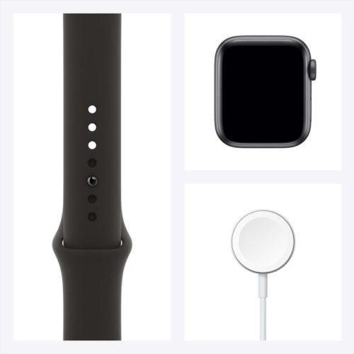 Смарт-часы Apple Watch SE 40mm Space Gray Aluminum Case with Black Sport Band