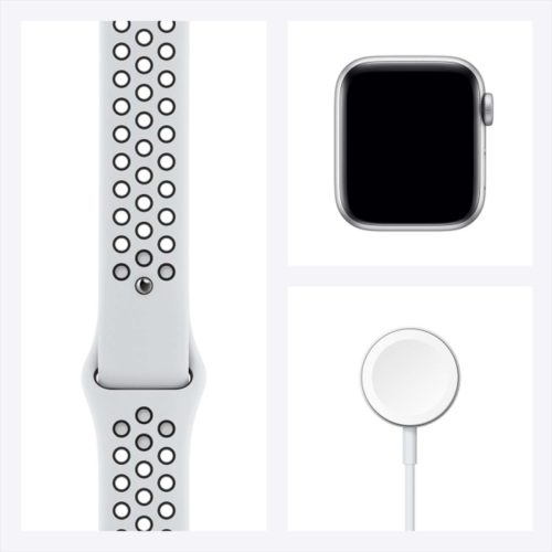 Смарт-часы Apple Watch Nike SE 40mm Space Gray Aluminum Case with Black Nike Sport Band